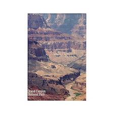 flip_flops_travel_grand_canyon_04 Rectangle Magnet