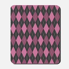 flip_flops_patterns_argyle_08 Mousepad