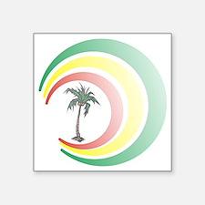 """palmera. Square Sticker 3"""" x 3"""""""