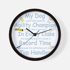 AgilityTopHandler_tran3 Wall Clock