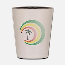palmera. Shot Glass