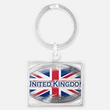 United Kingdom Landscape Keychain
