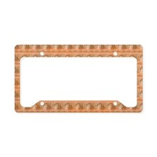 apricotbeadstb License Plate Holder