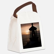 (10) Cape Meares Lighthouse  4973 Canvas Lunch Bag