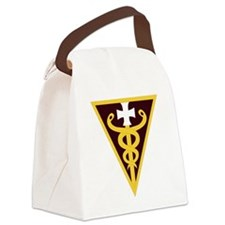 DUI -USARC-3rd Medical Command Canvas Lunch Bag