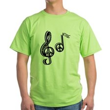 music_is_universal_plus_note_large T-Shirt
