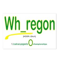 Whoregon 2 Postcards (Package of 8)