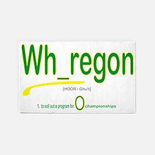 Whoregon 2 3'x5' Area Rug