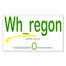 Whoregon 2 Decal