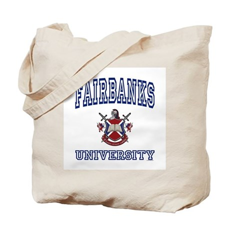 FAIRBANKS University Tote Bag