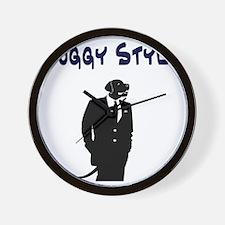 Doggy Style Wall Clock