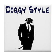 Doggy Style Tile Coaster