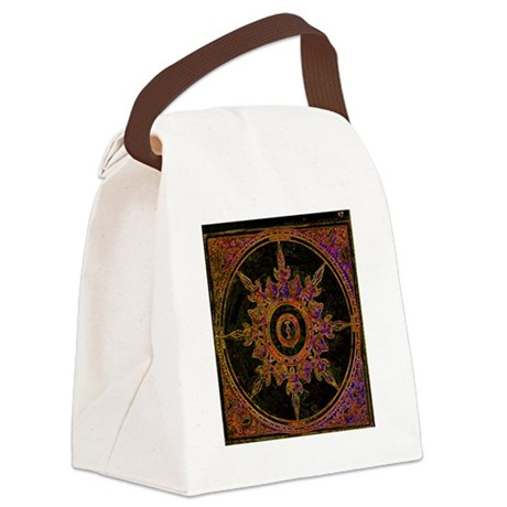 wind rose Canvas Lunch Bag