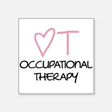Occupational Therapy - Rectangle Sticker