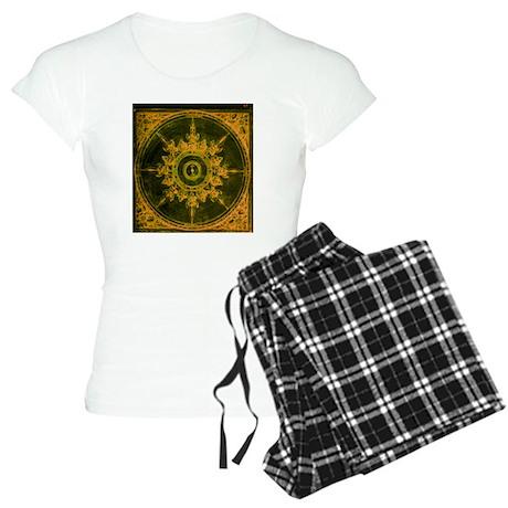 wind rose 1 Women's Light Pajamas
