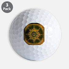 wind rose 1 Golf Ball