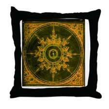 wind rose 1 Throw Pillow