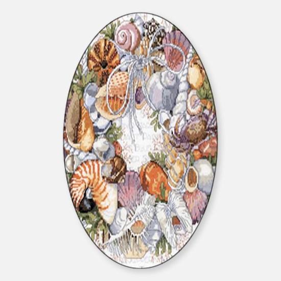 seashell Sticker (Oval)