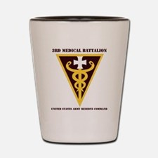 DUI -USARC-3rd Medical Command with tex Shot Glass