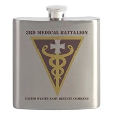 DUI -USARC-3rd Medical Command with text  Flask
