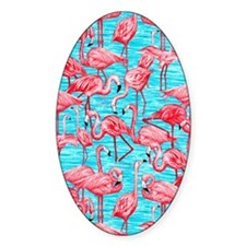 Flamingos Decal