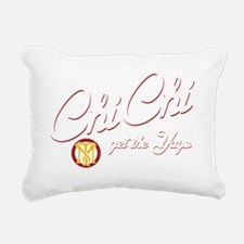 Chi-Chi-drks Rectangular Canvas Pillow