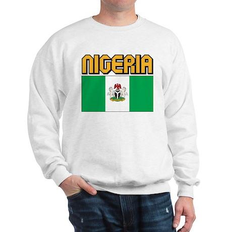 Nigeria Flag Sweatshirt