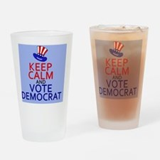 KCvotedembutton Drinking Glass