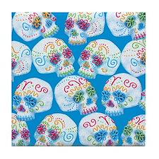 sugar-skulls_12-5x13-5h Tile Coaster
