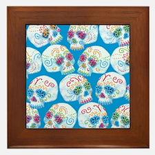 sugar-skulls_12-5x13-5h Framed Tile