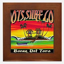 Roots Surf Love Framed Tile