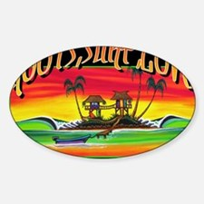 Roots Surf Love Decal