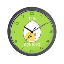 egg chick Wall Clock