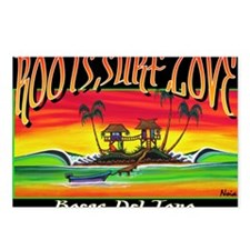 Roots Surf Love Postcards (Package of 8)