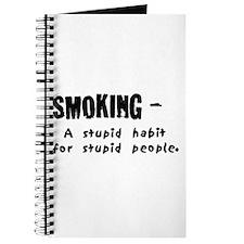 Cute Anti smoking Journal