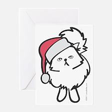 persian_santa Greeting Card