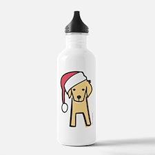 golden_santa Water Bottle