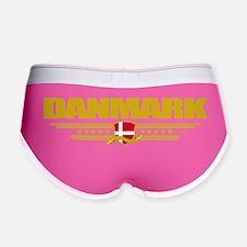 Denmark COA(Flag 10) pocket Women's Boy Brief