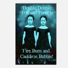 Double Double Postcards (Package of 8)