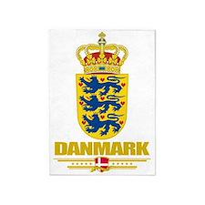 Denmark COA(Flag 10) 5'x7'Area Rug