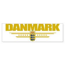 Denmark (Flag 10) pocket Bumper Sticker