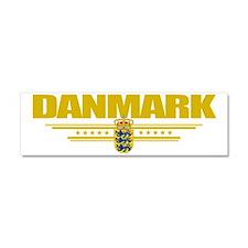 Denmark (Flag 10) pocket Car Magnet 10 x 3
