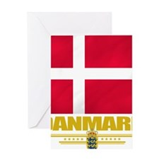 Denmark (Flag 10) Greeting Card
