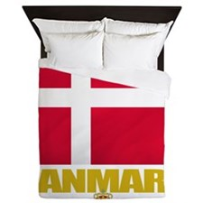 Denmark (Flag 10) Queen Duvet