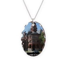 ellis-county-courthouse-poster Necklace