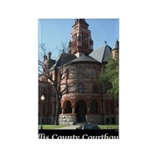 ellis-county-courthouse-poster Rectangle Magnet