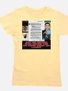 CIA-Memo-To-Bush-August-2001-Black Girl's Tee