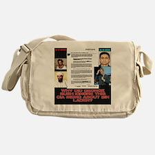 CIA-Memo-To-Bush-August-2001-Black Messenger Bag