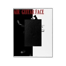 air guitar face tee Picture Frame