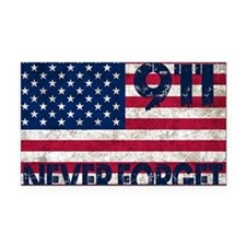 USA 911 Rectangle Car Magnet